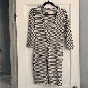 NICOLE MILLER stripped dress